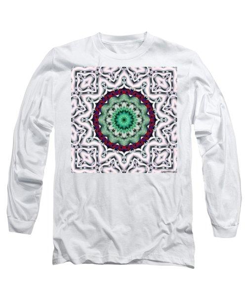 Long Sleeve T-Shirt featuring the digital art Mandala 8 by Terry Reynoldson
