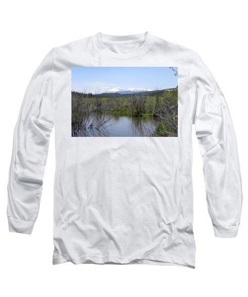 Lake Manitou Sp Woodland Park Co Long Sleeve T-Shirt