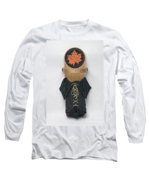 Maple Leaf Cradleboard Long Sleeve T-Shirt