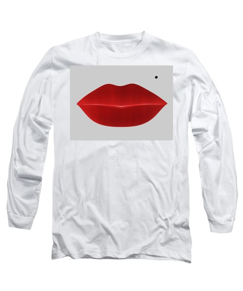 Marilyn Lips Long Sleeve T-Shirt