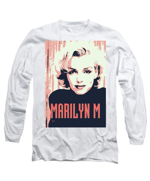 Marilyn M Long Sleeve T-Shirt