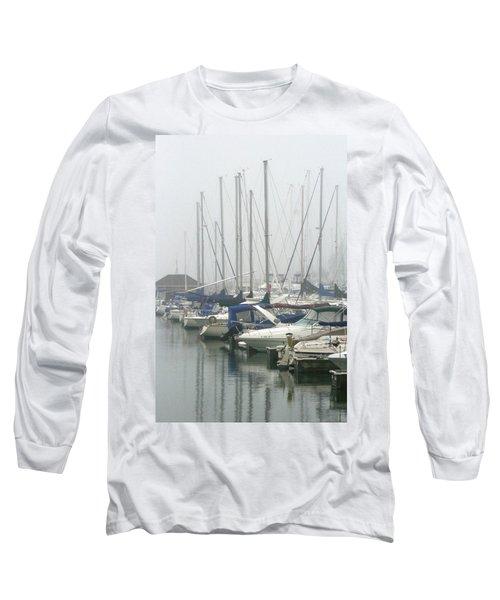 Marina Reflections Long Sleeve T-Shirt by Kay Novy