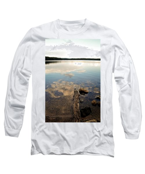 Marion Lake Reflections Long Sleeve T-Shirt