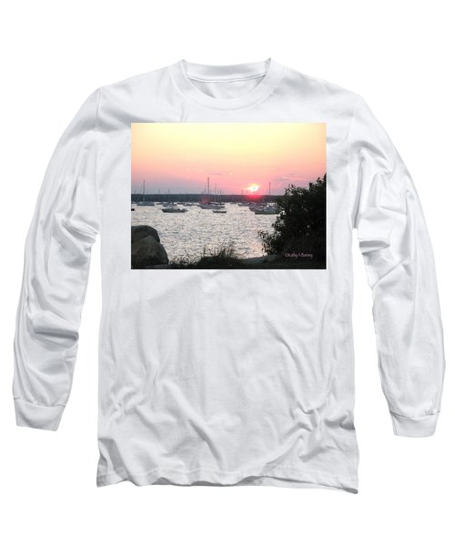 Marion Massachusetts Bay Long Sleeve T-Shirt by Kathy Barney