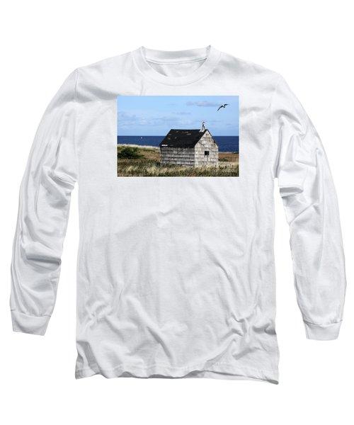 Maritime Cottage Long Sleeve T-Shirt