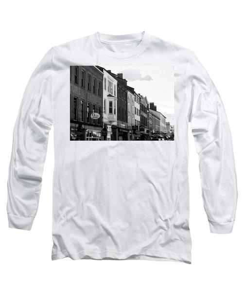 Market Street Long Sleeve T-Shirt by Kevin Fortier