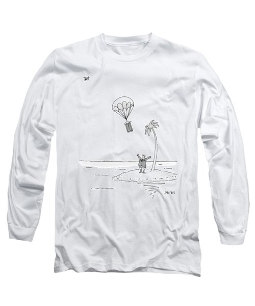 Marooned On An Island Long Sleeve T-Shirt
