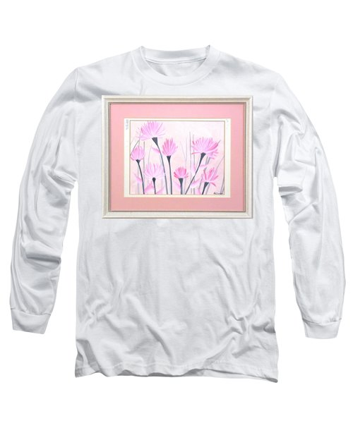 Marsh Flowers Long Sleeve T-Shirt