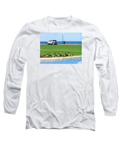 Martha Vineyard Long Sleeve T-Shirt by Oleg Zavarzin