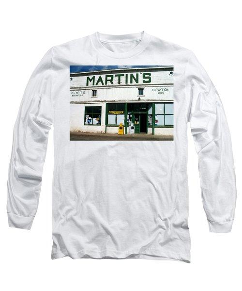 Martin's Long Sleeve T-Shirt