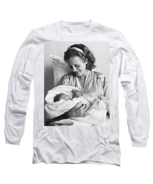Mary Astor's New Daughter Long Sleeve T-Shirt