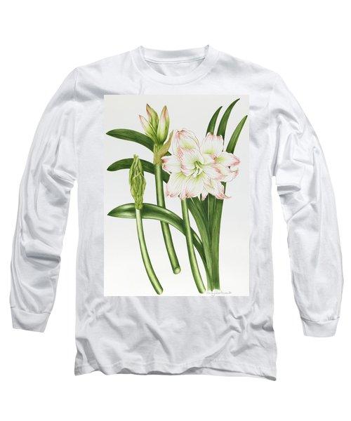 Mary Lou Amaryllis Long Sleeve T-Shirt