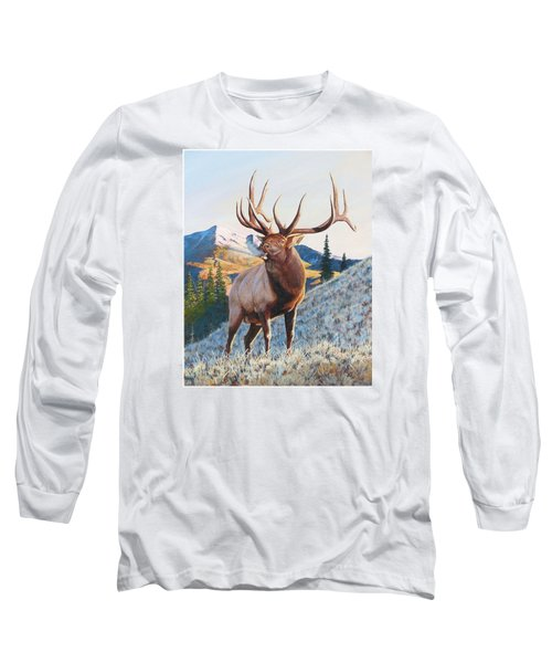 Mary's River Morning Long Sleeve T-Shirt