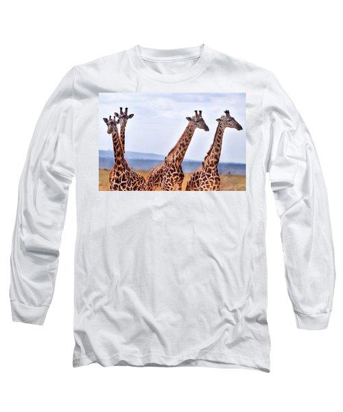 Masai Giraffe Long Sleeve T-Shirt