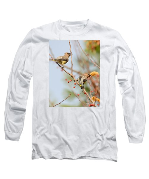 Masked Duo Long Sleeve T-Shirt by Kerri Farley
