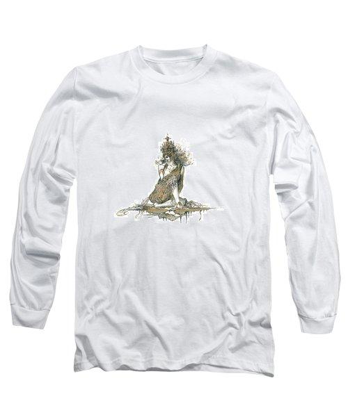 Wanita Long Sleeve T-Shirt