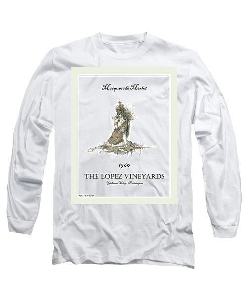 Masquerade Merlot Long Sleeve T-Shirt