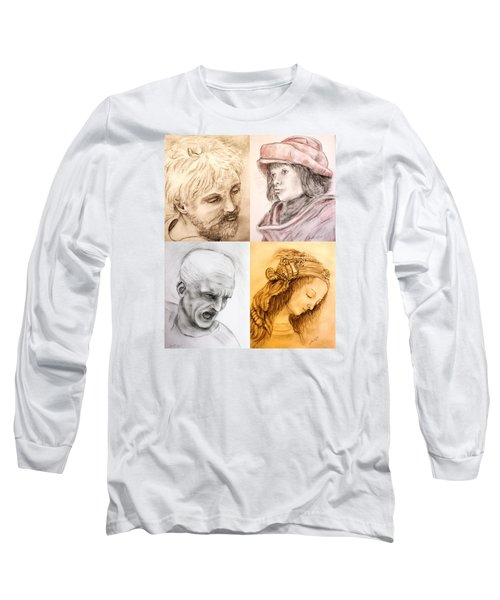 Master Studies Long Sleeve T-Shirt by Loretta Luglio