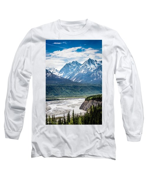 Matanuska River  Long Sleeve T-Shirt