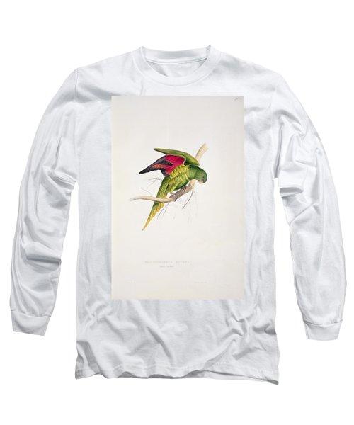 Matons Parakeet Long Sleeve T-Shirt by Edward Lear