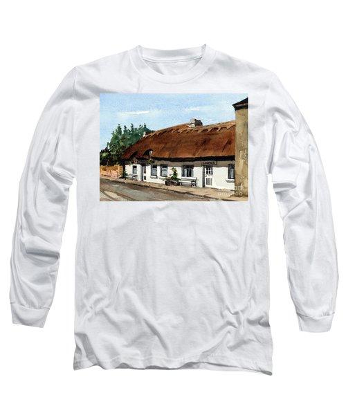 F 709 Mcdonaghs Pub  Oranmore Galway Long Sleeve T-Shirt