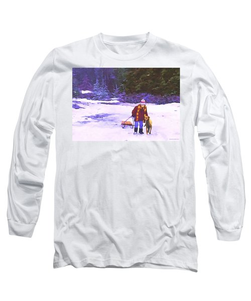 Me And My Buddy Long Sleeve T-Shirt