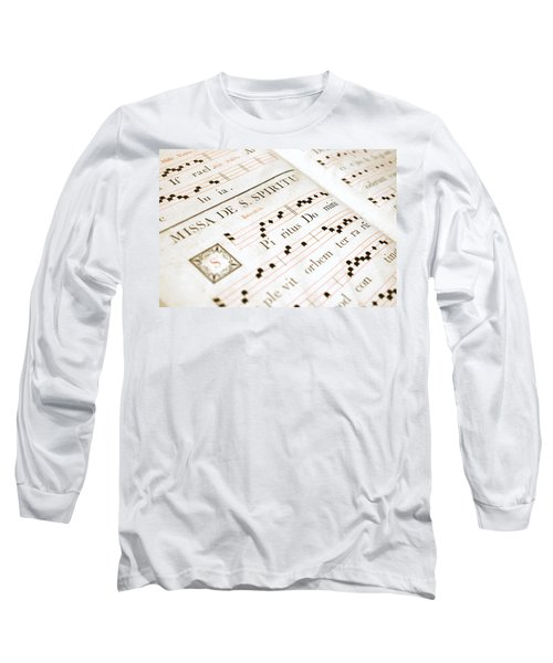 Mediavel Chorus Book  Long Sleeve T-Shirt