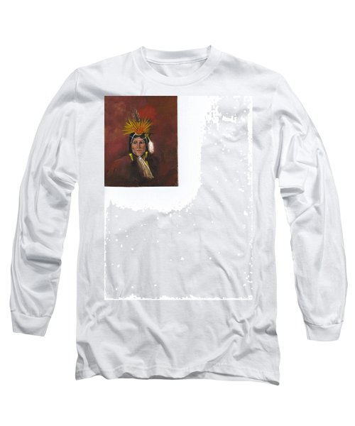 Medicine Man Long Sleeve T-Shirt by Catherine Swerediuk