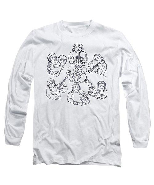 Medieval Musicians Long Sleeve T-Shirt