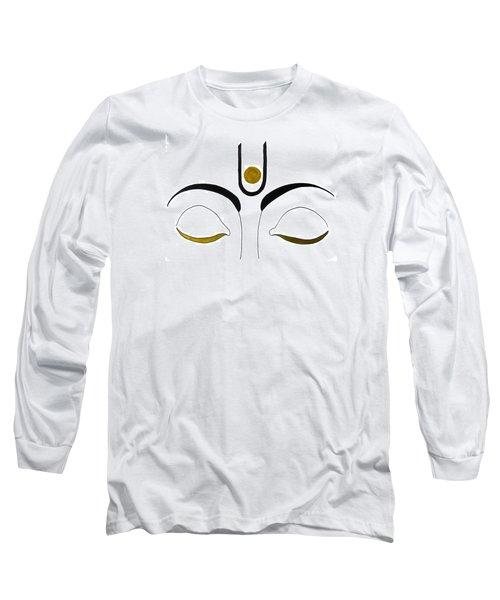 Meditation Long Sleeve T-Shirt by Kruti Shah