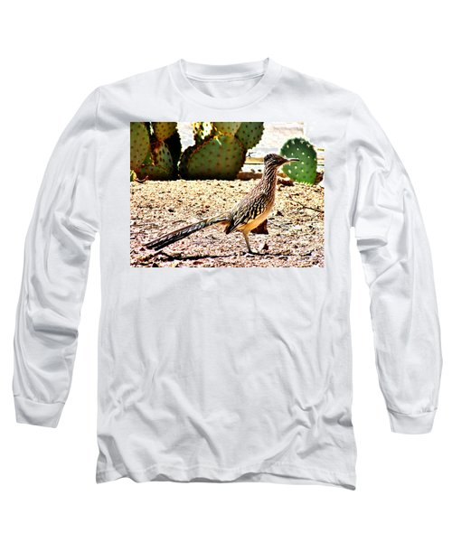 Meep Meep Long Sleeve T-Shirt by Marilyn Smith