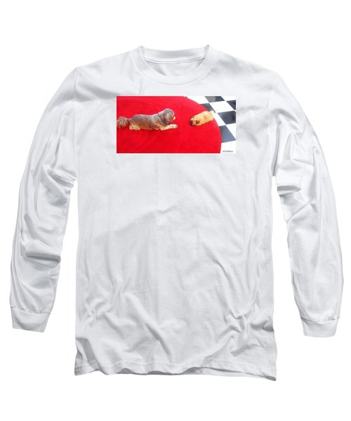 Meeting Mr. Blu Long Sleeve T-Shirt