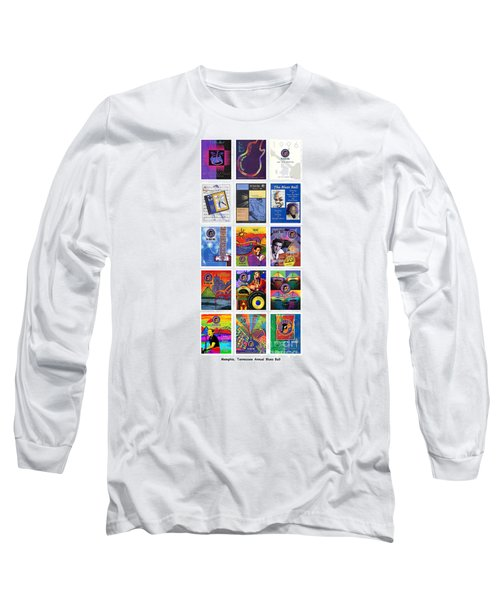 Posters Of Music Long Sleeve T-Shirt by David Bearden
