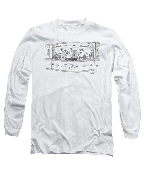 Men At The Opera Long Sleeve T-Shirt