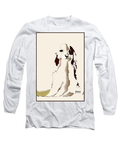Mercedes  - Our Cavalier King Charles Spaniel  No. 9 Long Sleeve T-Shirt