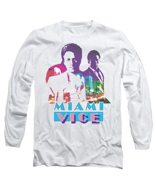 Miami Vice - Crockett And Tubbs Long Sleeve T-Shirt