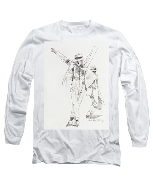 Michael Smooth Criminal Long Sleeve T-Shirt