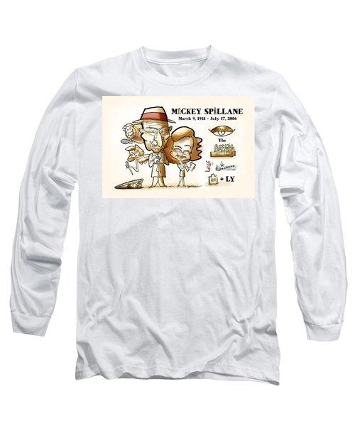 Mickey Spillane Long Sleeve T-Shirt