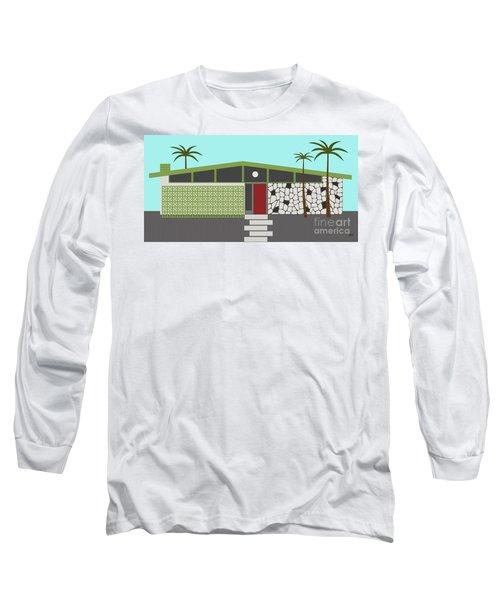 Mid Century Modern House 4 Long Sleeve T-Shirt