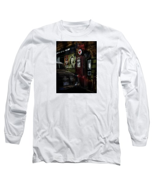 Midnight Fill Up Long Sleeve T-Shirt by Gary Warnimont