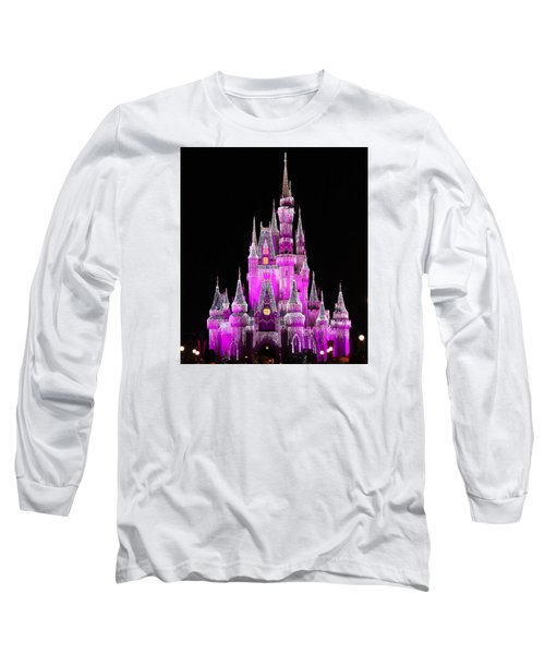 Midnight View Long Sleeve T-Shirt by Lorna Maza