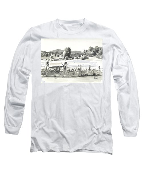 Midsummer View Out Route Jj   No I101 Long Sleeve T-Shirt