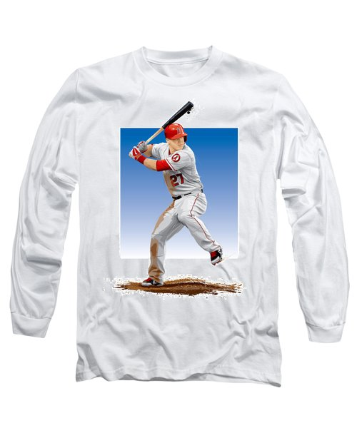 Mike Trout Long Sleeve T-Shirt