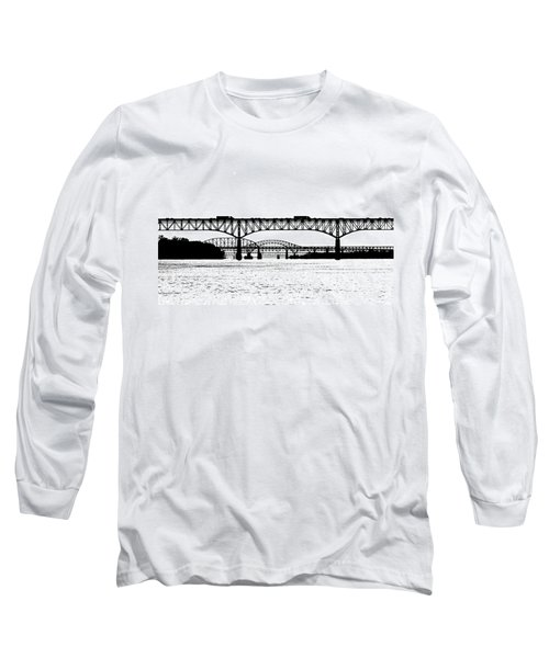 Millard Tydings Memorial Bridge Long Sleeve T-Shirt