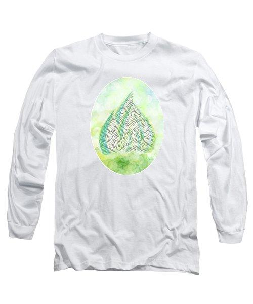 Mini Forest Illustration Long Sleeve T-Shirt