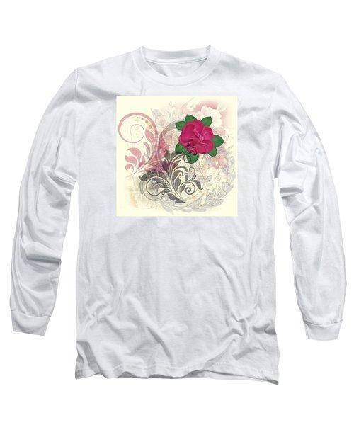 Mini Rose Flourish Long Sleeve T-Shirt