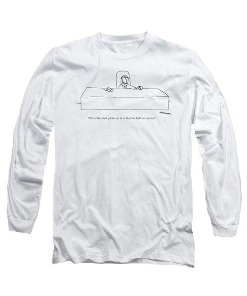 Miss Harwood Long Sleeve T-Shirt