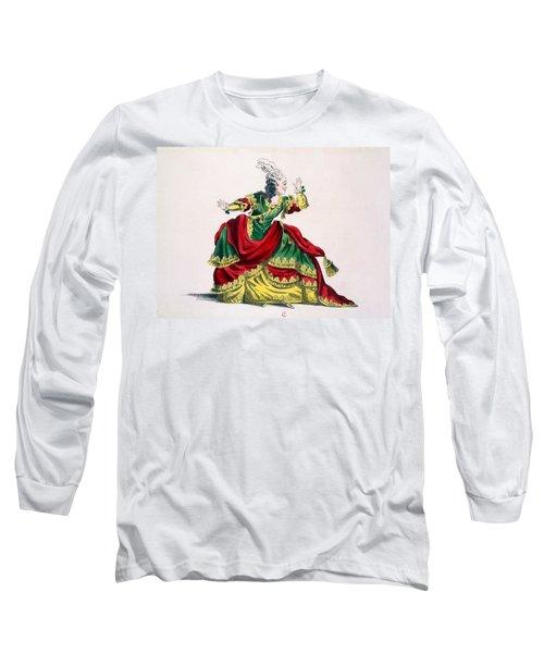 Miss Sainval As Zenobie In Zenobie Long Sleeve T-Shirt
