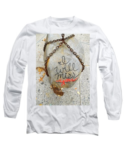 Long Sleeve T-Shirt featuring the photograph Missing You by Joan Reese