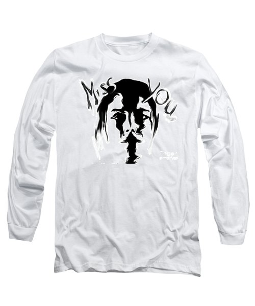 Missing You Long Sleeve T-Shirt by Tbone Oliver